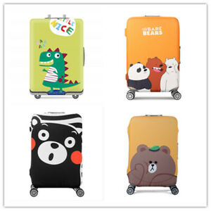 19-32-Inch-Travel-Luggage-Cover-Elastic-Suitcase-Protector-3D-Anti-Scratch-Case