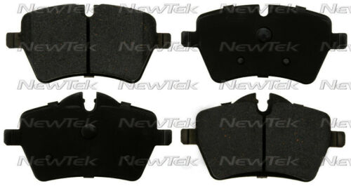 Disc Brake Pad Set-Galaxy Ceramic Disc Pads Front NewTek SCD1467