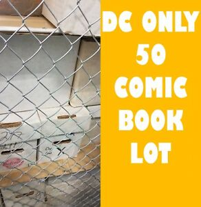 DC-ONLY-HUGE-COMIC-BOOK-LOT-50-Batman-Superman-JLA-NO-DOUBLES-FREE-SHIPPING