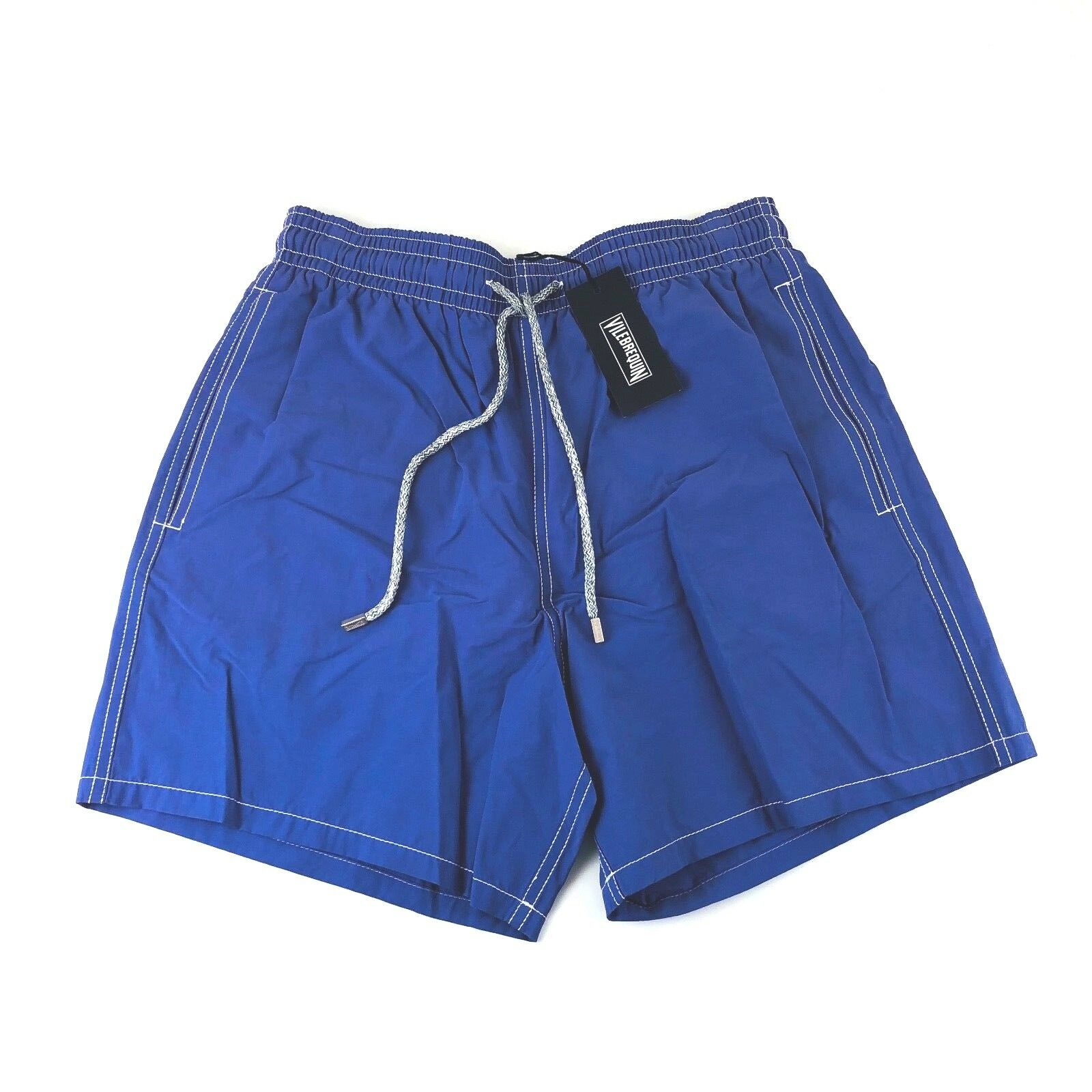Vilebrequin Moorea Lavender Drawstring Liner Swim Trunks Shorts Men M L NWT