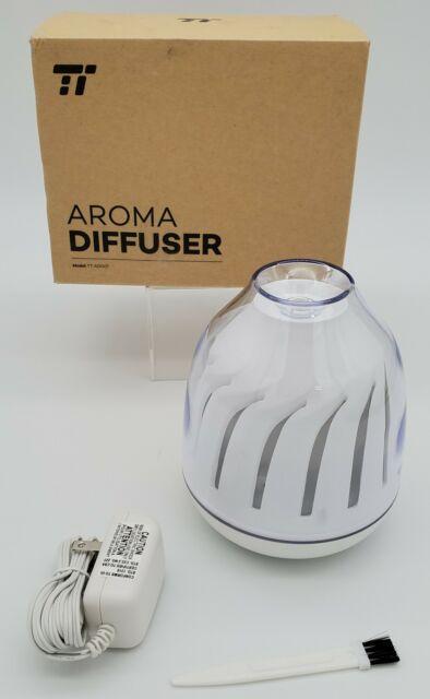 Mini Aromatherapy Oil Diffuser (120 ML/White)
