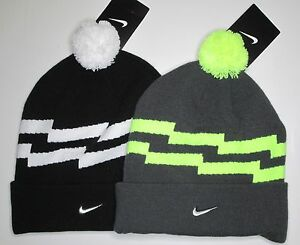 4457d1b8c25e40 Nike Adult Unisex pom beanie hat one size choose color NWT style ...
