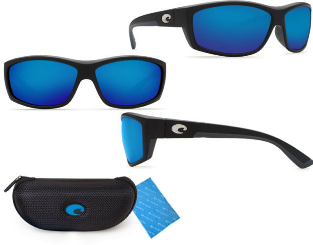 e1764ed449d Costa Del Mar BK11OBMGLP Saltbreak Black   580 Blue Mirror Glass 580G  Sunglasses