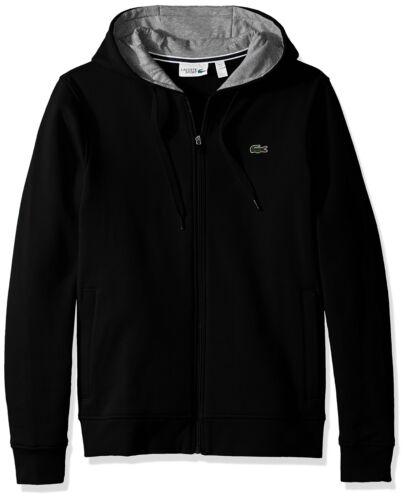Lacoste Men/'s Tennis Sport Full Zip Hoodie Fleece Sweatshirt
