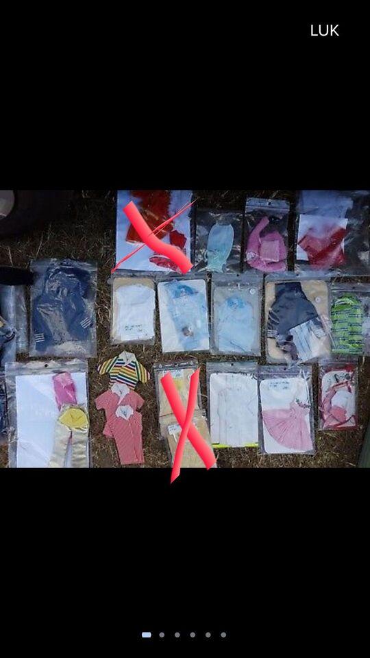 Dukketilbehør, Barbie, Midge & Ken tøj