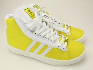 ex Individualidad Quagga  Novo Adidas Adicolor Amarelo Edição Limitada Y2 Hi Tops Taro Okamoto 10.5 |  eBay