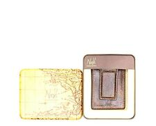 Patricia Nash Men's Firenze Leather Money Clip Card Case Wallet Brown- N72
