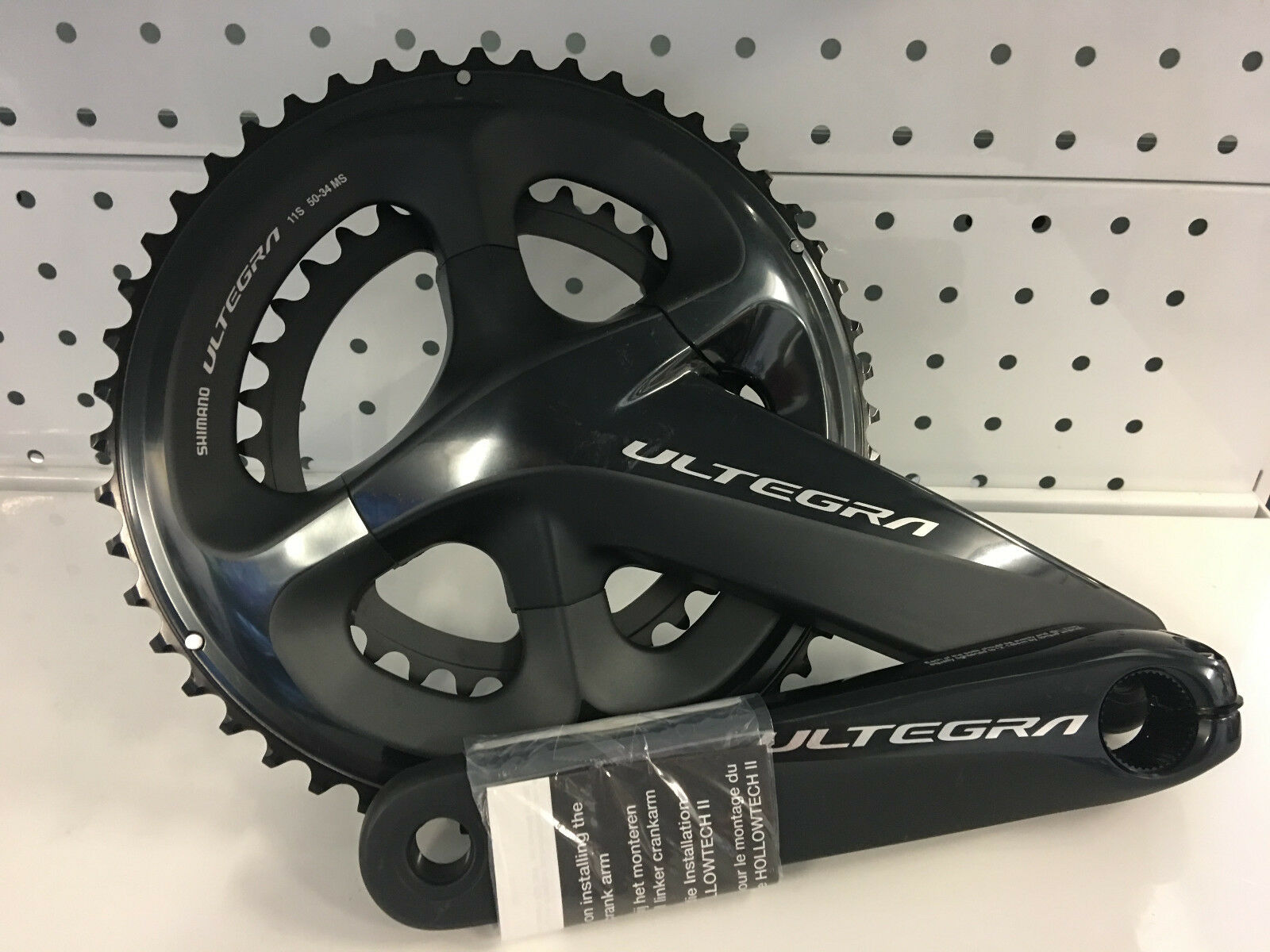 Shimano Ultegra Hollowtech II FC-R8000 2x11-Speed 50x34T 172,5mm Crankset