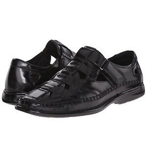 12af3870a601 Details about Stacy Adams Mens Biscayne Slip On Moc Toe Strap Casual Fisherman  Sandals Shoes