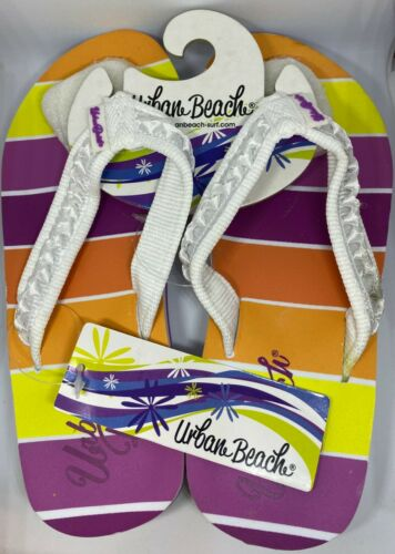Gym Slippers Size UK 1 // EU 33 Swimming Urban Beach Flip Flop for the Beach