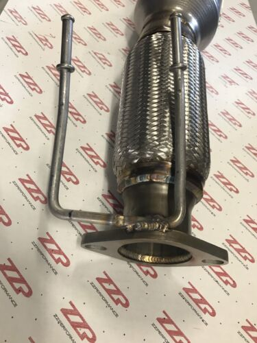 """ZZP 3/"""" Stainless Downpipe  For 2013-17 MKZ Fusion 2.0L Turbo Exhaust Ecoboost"""