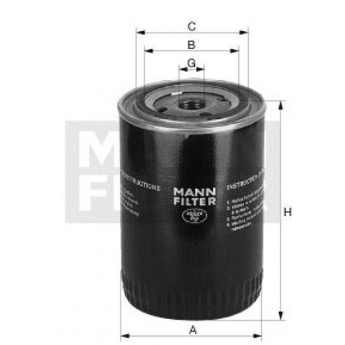Filtro hombre filtro aceite w7193 Mann-Filter W 719//3