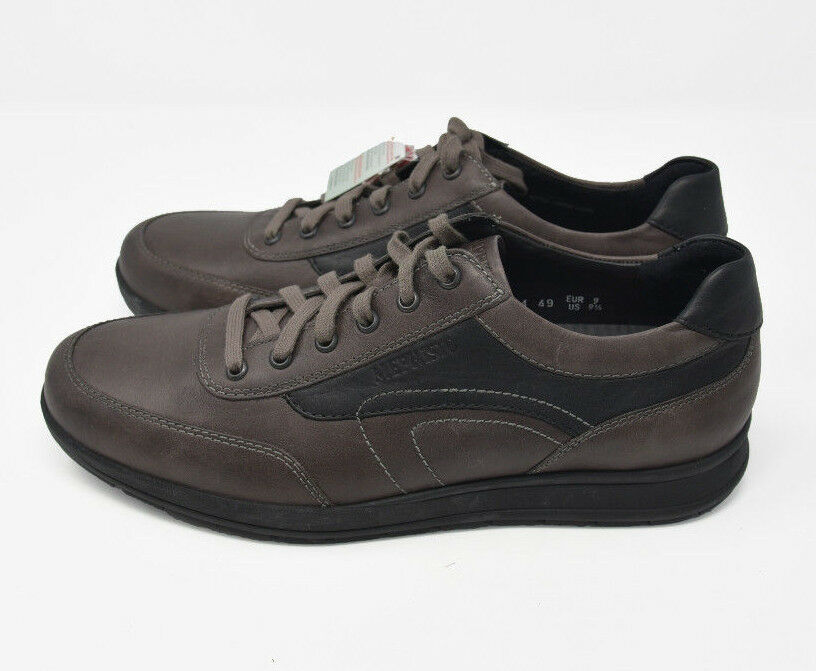 NEW  Mephisto Men's Sz 9.5 Brown Leather Lace Up Oxford Comfort Walking 03 1320