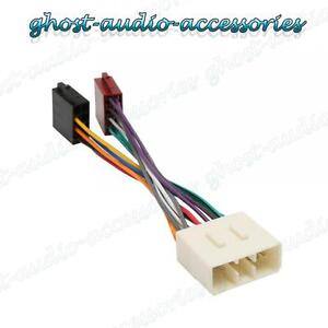 car stereo radio iso wiring harness adaptor loom su 100. Black Bedroom Furniture Sets. Home Design Ideas