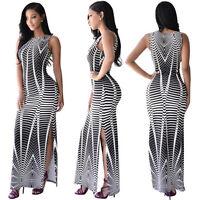 New Ladies Womens Summer Maxi Boho Long Dress Evening Cocktail Party Dress