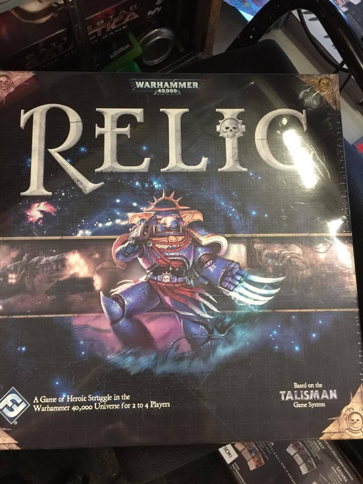 Warhammer 40,000 Relic Board Game Scellé Fantasy Flight