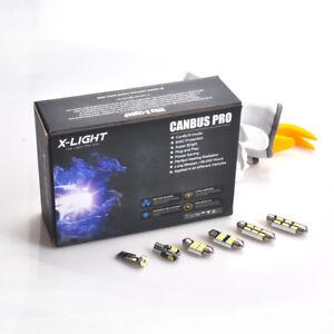 16x LED SMD Luce Bianco Interno Posteriore illuminazione AUDI A5