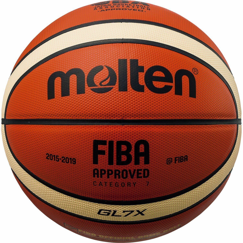 Molten baloncesto FIBA officilal juego GL7 tamaño de la bola  7 GL7X BGL7X Nuevo