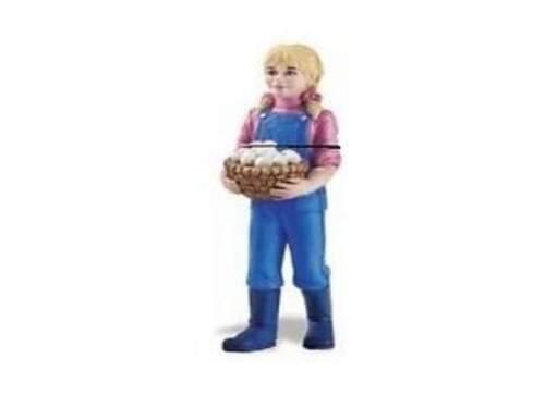 Safari Ltd 820329 Rancher fille Nicole 8 cm Série de personnes