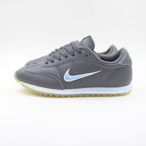 classic fit e5dd4 d87ea Details about Womens Nike Mini Swoosh Cortez Trainers 2001 UK 2.5 304060  041 3623 Jewel
