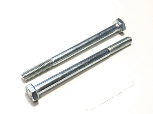 M10x130mm 1 Stück Schraube DIN 931 M10x130 10.9 verzinkt