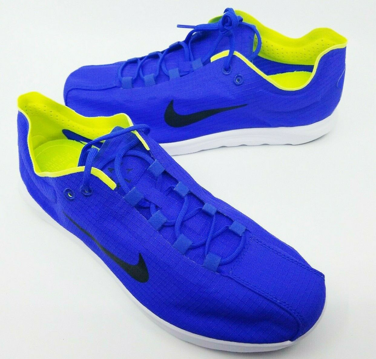 Nike Mayfly Lite SE bluee Yellow Lace Up Mens Sneakers shoes Size 10