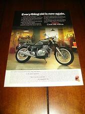 1989 HONDA GB500 - TOURIST TROPHY  ***ORGINAL AD***