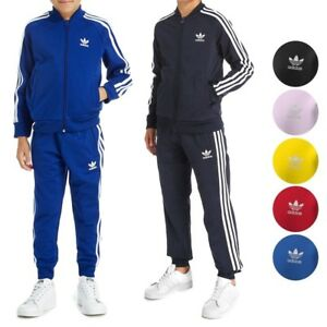 455a272116a Image is loading Adidas-Originals-Superstar-Tracksuit-Jacket-amp-Pants -Junior-