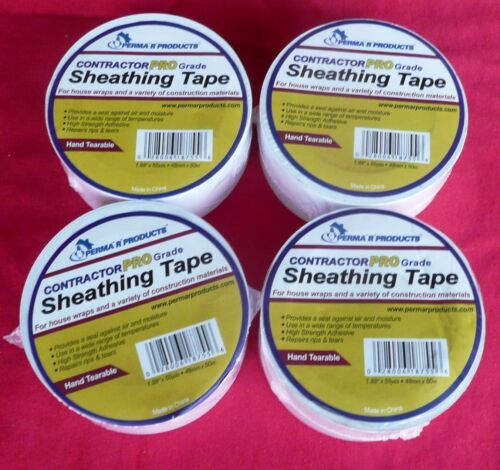 FOUR Perma R Products 18755 Contractor Pro Sheathing Tape 4