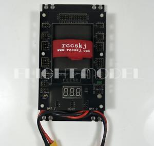 Entrada de placa de sección Servo 30 A 6-12.6V con Interruptor Electrónico Dual Power Input