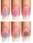 Indexbild 13 - Nail Tattoo Nail Art Schneeflocken Eiskristalle Winter Weihnachten + Glitter