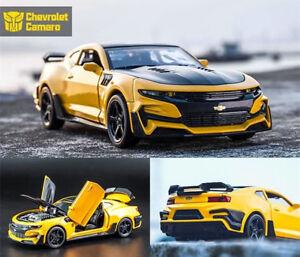 Chevrolet-chevy-camaro-2018-Transformers-Bumblebee-1-32-rare-new