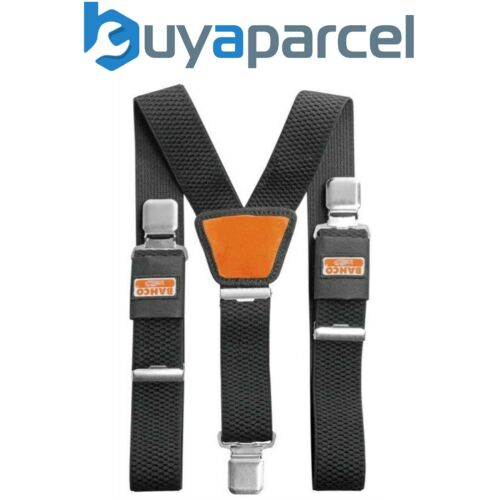Bahco 4750-BWC-1 Noir Pantalon Réglable Bretelles Avec Résistant Clips