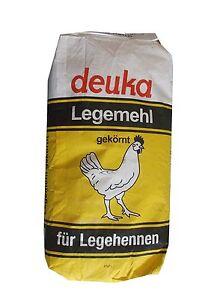 25-kg-deuka-Legemehl-gekoernt-fuer-Legehennen-Gefluegelfutter-Huehnerfutter-Futter