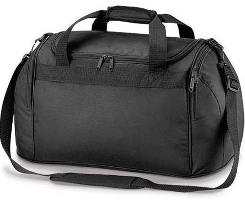 Compact Noir Holdall Sports Exercice Gym Nuit Weekend Voyage Duffle Bag