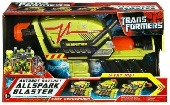 Transformers Transformers Transformers Autobot Ratchet Allspark Blaster Year 2007 Rare Collectible New aae3a8