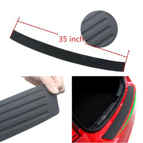 Universal Car Rear Guard Bumper Rubber Sticker Protector Trim Cover Accessories