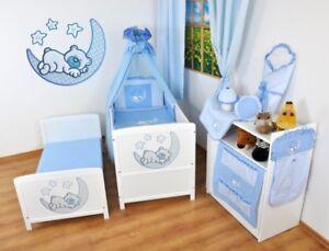 Kinderbett-Juniorbett-140x70-Weiss-3x1-inkl-komplette-Bettwaesche-Set-nr-7
