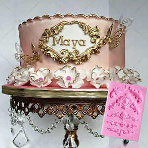 Sculpted-Silicone-Fondant-Lace-Sugarpaste-Chocolate-Mould-Cake-Decoration-Tools