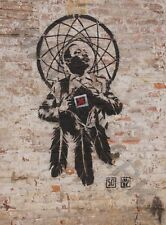 Banksy Style Dr Luther King Junior Graffiti Large Poster Art Print Lf3740
