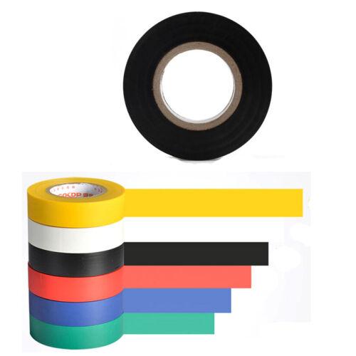 10 Meter 18mm Vinyl Isolierband Isolierung Klebeband Neue Beliebten