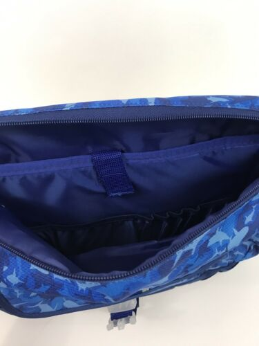 Bixbee Shark Camo Backpack Camouflage Blue
