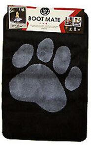 Tapis de protection pour chien Stamp Black Boot Mate - Pet Rebellion 67 X 100cm 8691341312284