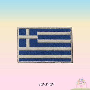 Greece National Flag Embroidered Iron On Patch Sew On Badge