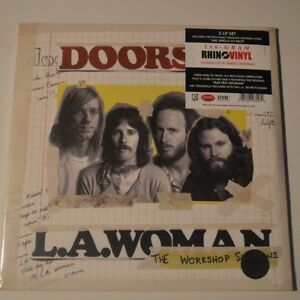 THE-DOORS-L-A-WOMAN-THE-WORKSHOP-SESSIONS-2012-2-LP-NEW-amp-SEALED