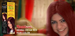 Ranikone 50gm Dark Red Henna Paste Hair Colour Ebay