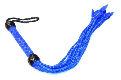 Hand Made Braided Cat O/' 9 Tails  Quality Suede Leather Flogger//whip.