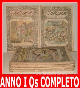 L-039-INTREPIDO-Avventure-Viaggi-Esplorazioni-Anno-I-1920-Qs-COMPLETO-Picco-Toselli