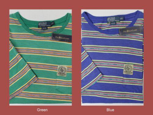 NWT $85 POLO Ralph T Shirt Native American Indian Head Patch Shirt Mens XXL NEW
