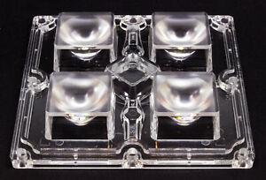 LED-Linse-Ledil-STRADA-CS15767-90mm-2X2MX-8-M-fuer-4-LEDs-ws2812-5050-1W-Leds